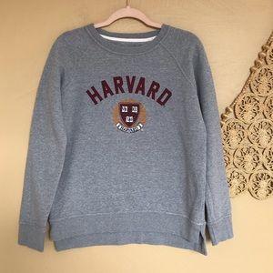 Harvard League Sweatshirt, Victory Grey